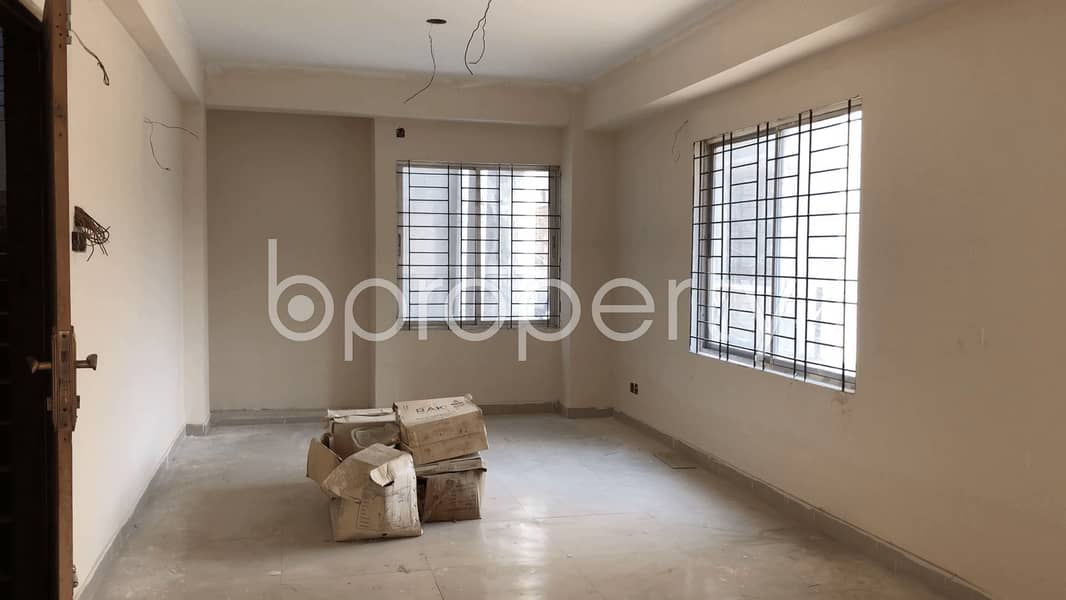 Simple and Elegant Residential Apartment Is For Sale In Uttara Nearby Regional Passport Office