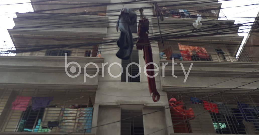 A 2 Bedroom Flat Which Is Near To Amjad Girls School For Rent In Tongi Bazar
