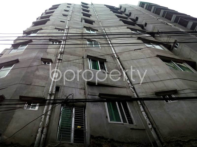 An Apartment Which Is Up For Rent At Auchpara Near To Mulluck Hossain Market