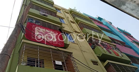 2 Bedroom Flat for Rent in Bakalia, Chattogram - Rent This Decent Apartment To Reside With Your Family In Bakalia Near Baitul Mansur Complex Jame Masjid