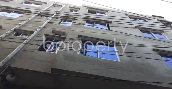2 Bedroom Apartment for Rent in Khilkhet, Dhaka - A Nice And Comfortable 750 Sq Ft Flat Is Up For Rent In Khilkhet Nearby Jamtola Jame Mosjid