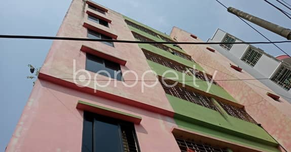 2 Bedroom Flat for Rent in Bakalia, Chattogram - An Apartment Of 800 Sq. Ft Is Up To Rent In Bakalia Near Hajji Chand Gazi Jame Mashjid.