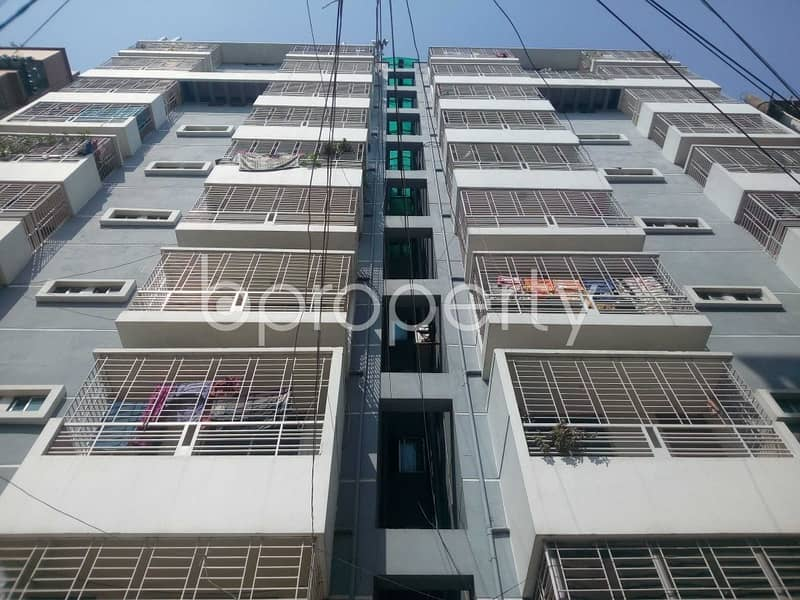 Well-constructed 1060 Sq Ft Apartment Is Ready For Sale At Aftab Nagar