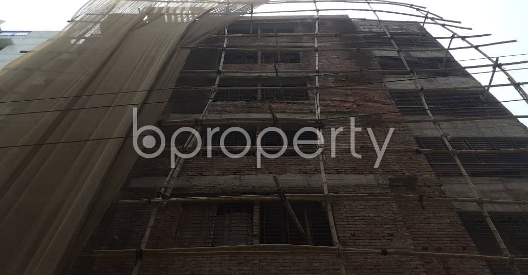 An Apartment Of 1300 Sq. Ft Is Up For Sale In Banasree Near National Ideal School.