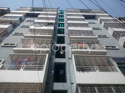 3 Bedroom Apartment for Sale in Aftab Nagar, Dhaka - An Attractive Apartment Is Up For Sale Covering An Area Of 1025 Sq Ft At Aftab Nagar