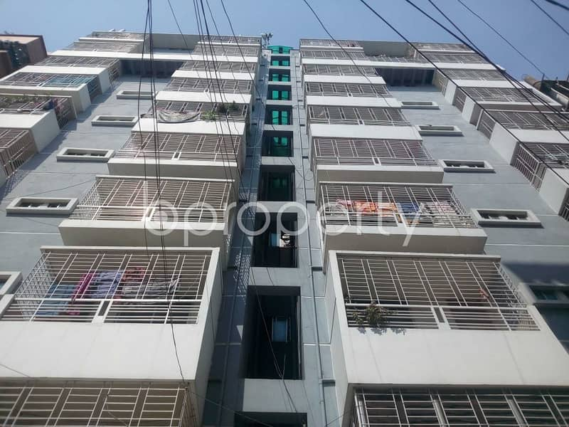An Attractive Apartment Is Up For Sale Covering An Area Of 1025 Sq Ft At Aftab Nagar