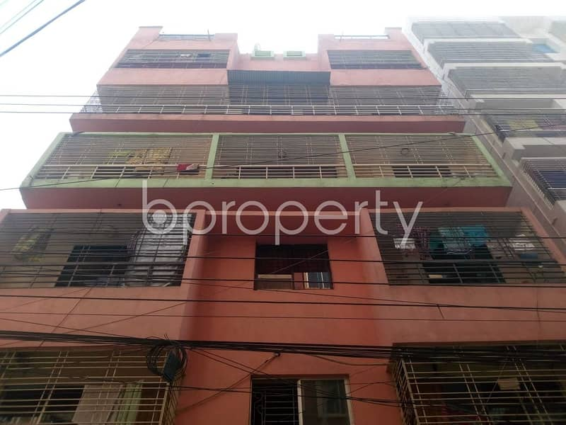 A Beautiful Apartment For Sale Is All Set For You In Aftab Nagar Nearby EWU.