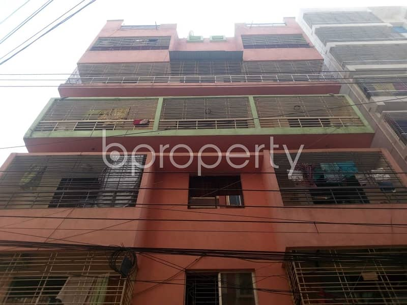 Flat For Sale Covering A Beautiful Area In Aftab Nagar Nearby EWU.