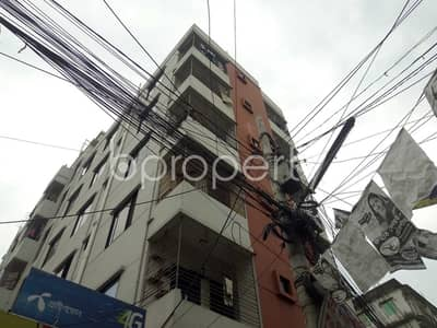 2 Bedroom Flat for Rent in 16 No. Chawk Bazaar Ward, Chattogram - Check This 850 Sq. ft Ready Apartment Up For Rent At Kapasgola Near Uttara Bank Limited
