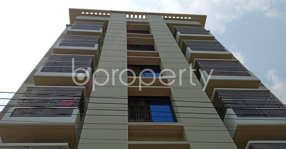 2 Bedroom Flat for Rent in Bakalia, Chattogram - A Finely Built 800 Sq Ft Flat Is Up For Rent In Darul Aman Residential Area