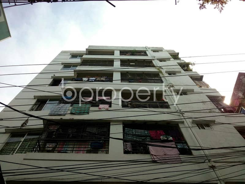 A Rightly Planned 965 Sq. Ft Residence Is Found For Sale In Mugdapara, Near Uttor Mugda Jhilpar Jame Masjid.