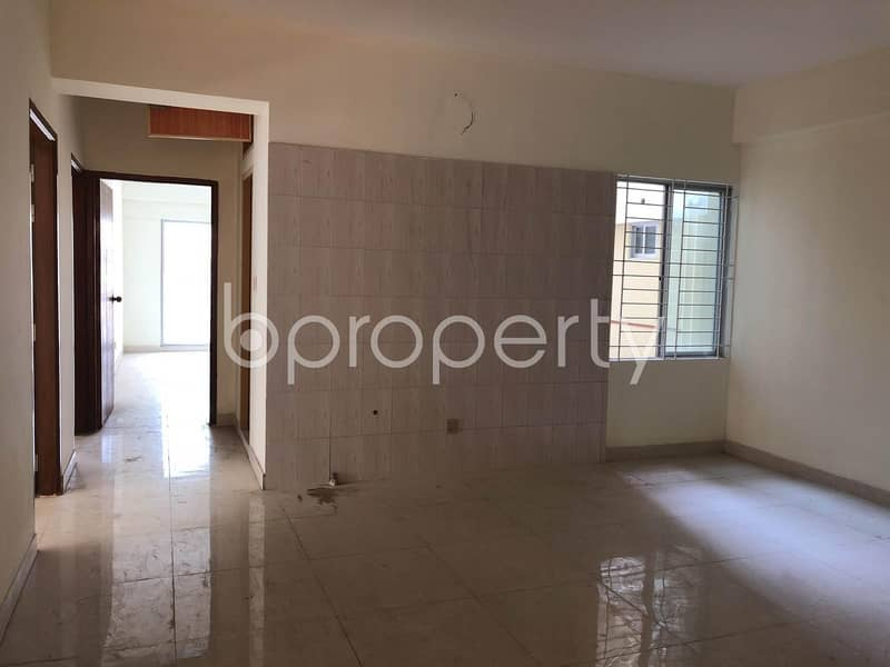 An Apartment Is Ready For Sale in Middle Badda, Near Baitul Jannat Jame Masjeed