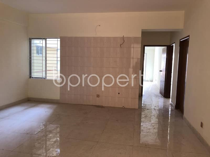 A 1587 SQ FT Apartment of a Standard Build Is Ready For Sale At Middle Badda, Near Baitul Jannat Jame Masjeed