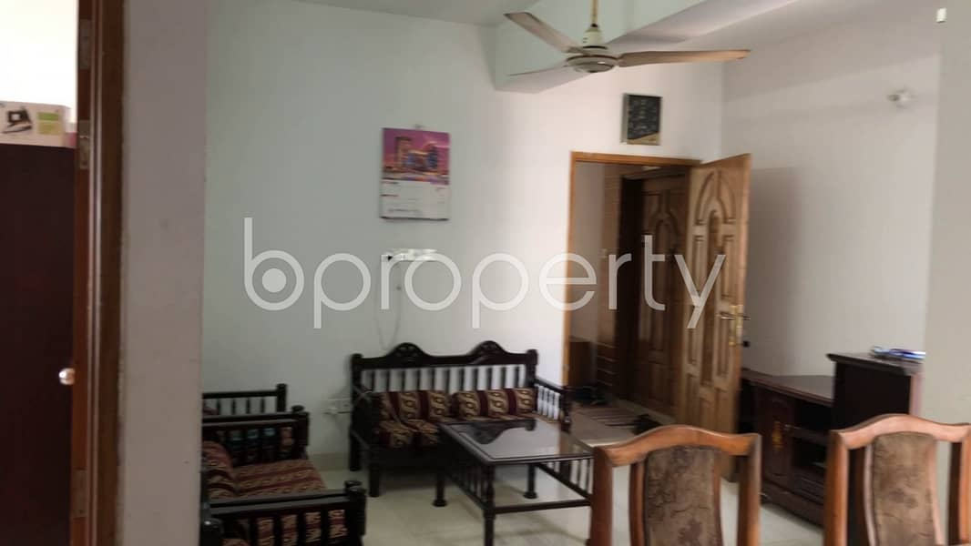 A Flat Can Be Found In Dhanmondi For Sale, Near Aziz Co-operative Housing Society Mosque