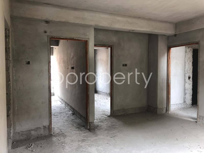 Find A 600 Sq Ft Flat Available For Sale In Jatra Bari Near To AB Bank