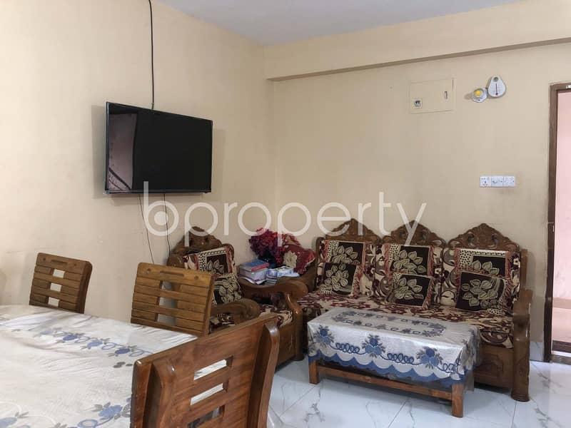 Apartment of 800 SQ FT For Sale In Jatra Bari Near Al-karim General Hospital Limited
