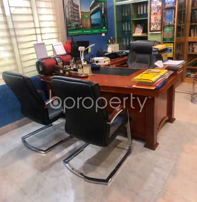 Office for Rent in Uttara, Dhaka - Fully Furnished Office Space Of 1000 Sq Ft Is Available For Rent In Uttara Sector 9, Nearby Baitul Aman Jam'e Mashjid