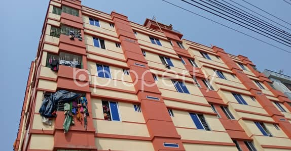 2 Bedroom Apartment for Rent in Bakalia, Chattogram - Your Desired 710 Sq Ft 2- Bedroom Home Is Ready To Rent In A Suitable Location Of Purbo Bakalia