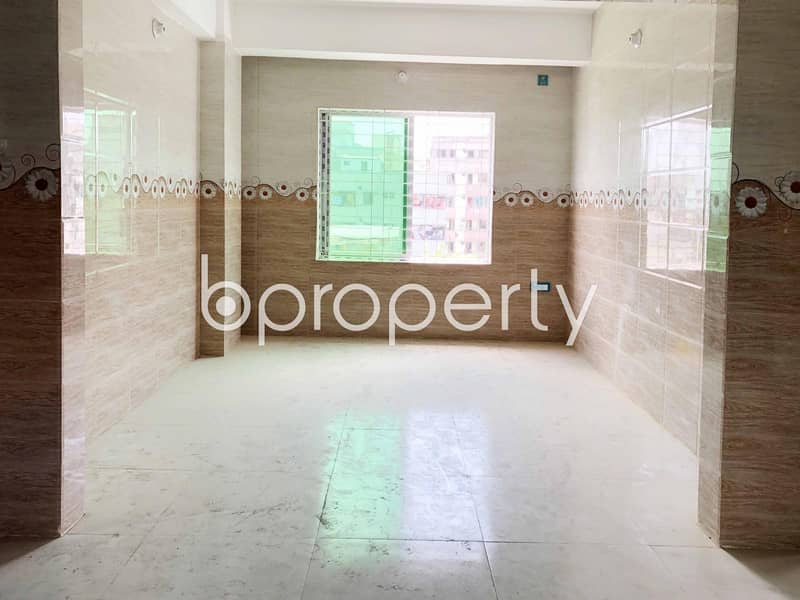 An Apartment For Rent Is All Set For You To Settle In Khilgaon Close To Matir Masjid.