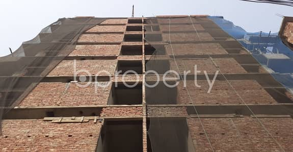 3 Bedroom Apartment for Sale in Banasree, Dhaka - A Well Defined Flat Of 1370 Sq Ft In Banasree Is Available For Sale Nearby Banasree Central Mosjid