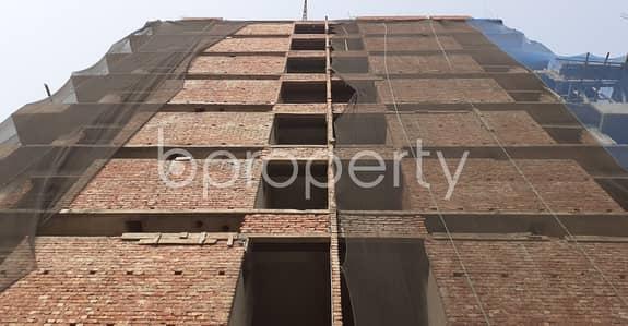 3 Bedroom Apartment for Sale in Banasree, Dhaka - Grab A 1370 Sq Ft Flat For Sale At Banasree Close To Banasree Central Mosjid