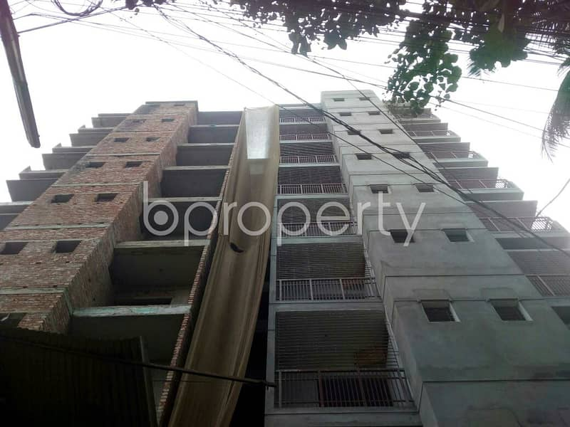 An Apartment Of 1250 Sq. Ft Is Up For Sale In Mirpur Section 11.