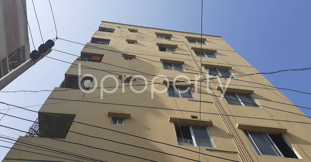 There Is 3 Bedroom Apartment Up For Sale In The Location Of Adabor Near Baitul Aman Housing Society Jame Mosque.