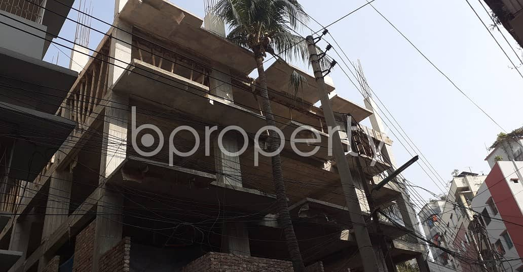 Check This 3 Bedroom Flat In West Dhanmondi And Shangkar Is Up For Sale.