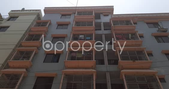 3 Bedroom Apartment for Rent in Banasree, Dhaka - Modern 1200 Sq Ft Flat Is Up For Rent In Banasree Near Banasree Central Masjid