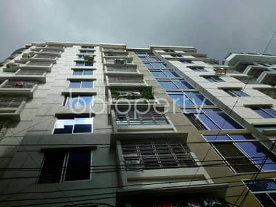 2 Bedroom Apartment for Rent in East Nasirabad, Chattogram - In The Beautiful Neighborhood In Al-Falah Housing Society A Flat Is Up For Rent