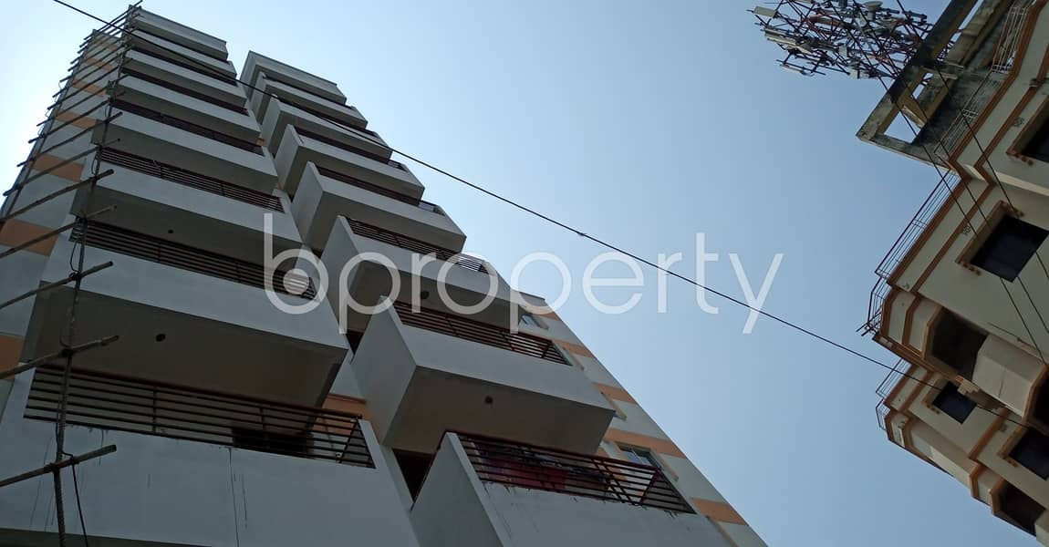 2 Bedroom, 2 Bathroom Apartment With A View Is Up For Sale Nearby Amzad Ali Sarker Pailot Girls' High School & College.