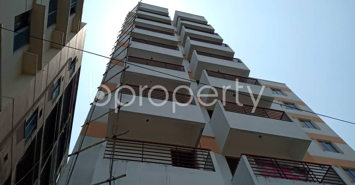 We Have A 1115 Sq. Ft Flat For Sale In Dakshin Khan Nearby Amzad Ali Sarker Pailot Girls' High School & College.