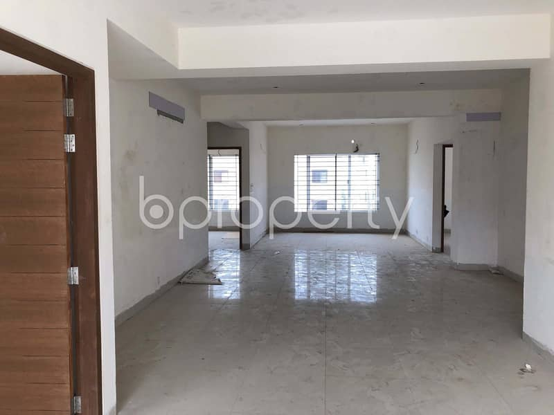 In Bashundhara R-A, Nearby Ebenzer International School, A Beautiful Apartment Is Ready For Sale