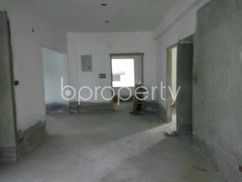 A Convenient 1600 Sq Ft Residential Flat Is Prepared To Be Sold At Uttara Nearby Uttara Adhunik Hospital