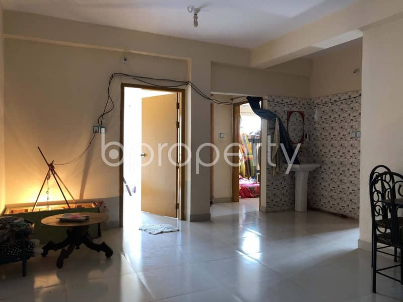 Get Comfortable In A Nice Flat For Sale In Bayazid Nearby Chattogram Polytechnic Institute
