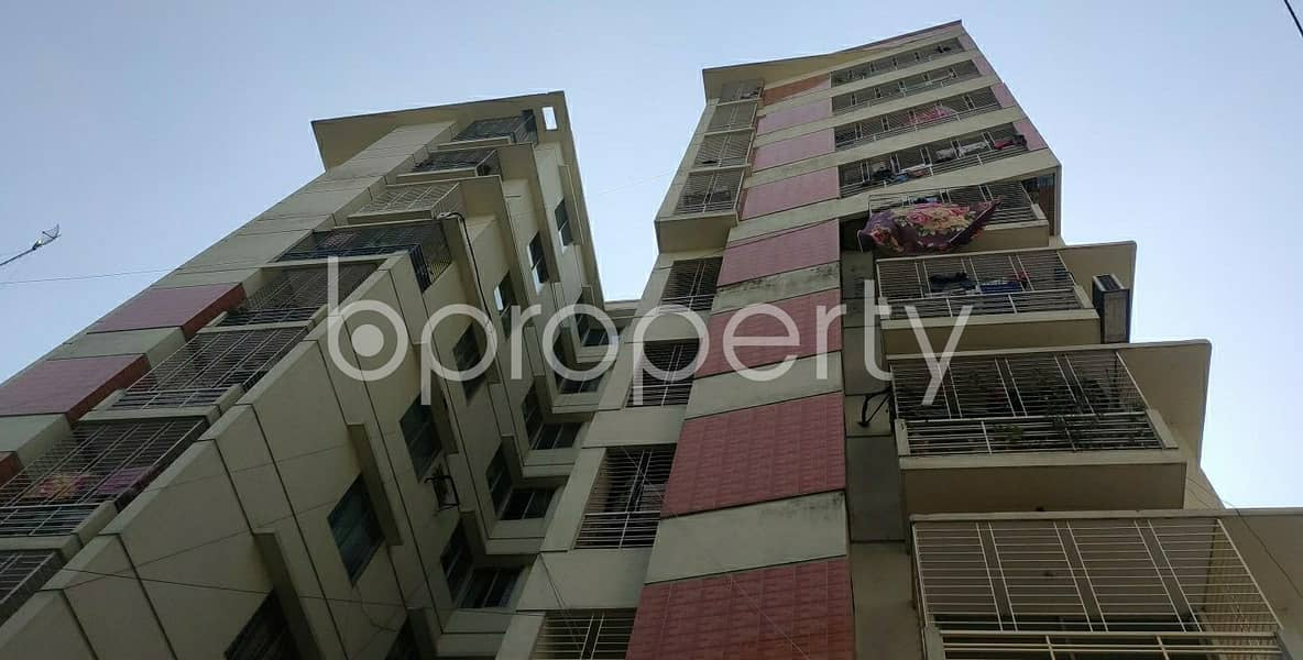 Check This Apartment Up For Rent At Dhanmondi Near Baitul Afsar Jame Mosque.