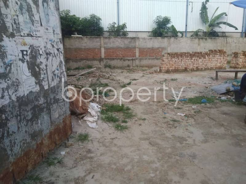 Residential Plot Is Available For Sale In Turag Nearby Update East West Hospital