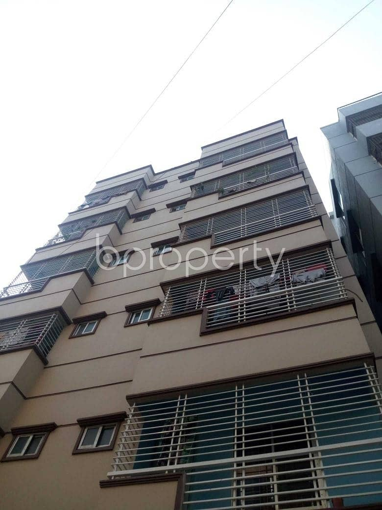 900 SQ FT flat is now to rent in Uttara near to Scholars' City College