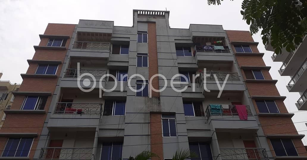 An Apartment Is Ready For Rent At Bashundhara R-A , Near Ebenzer International School.