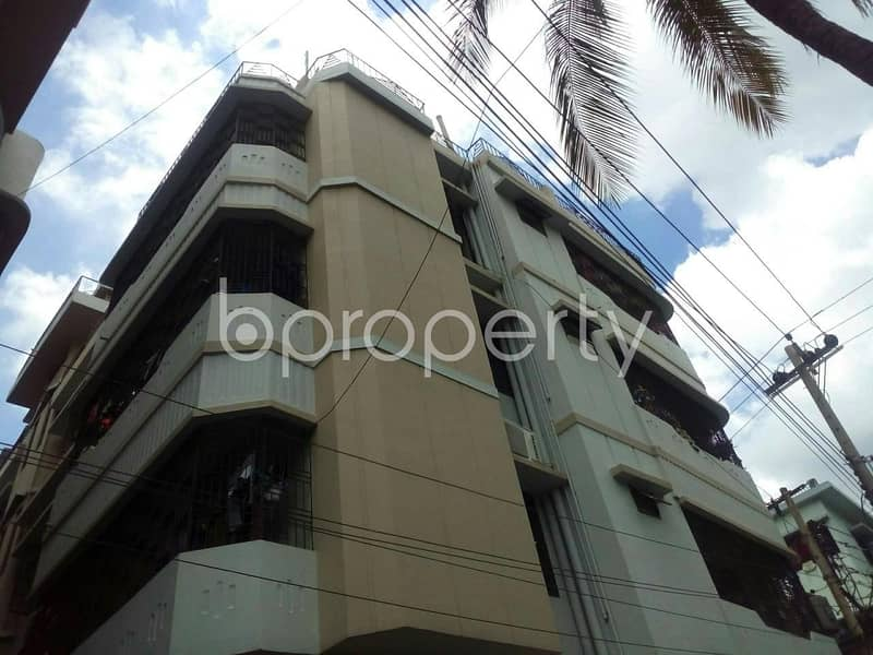 At Nasirabad C and B Colony, a 1058 SQ FT residential apartment ready to be sold close to Sanmar Shopping Mall