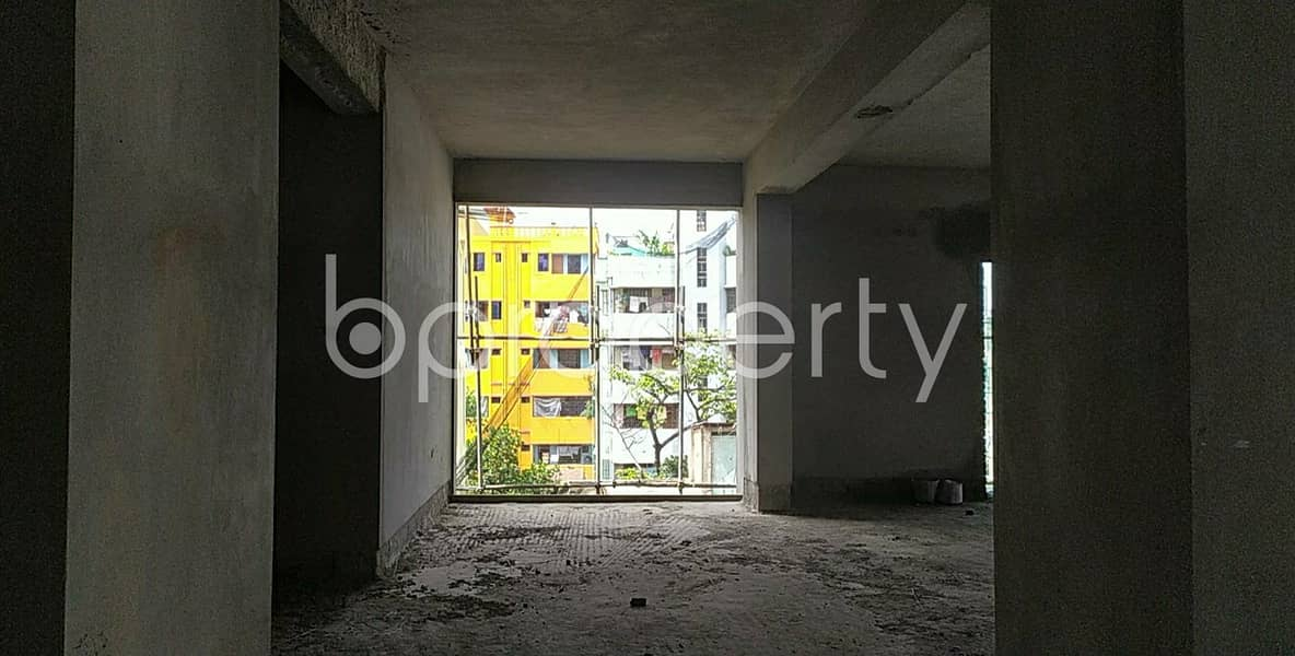 Remarkable Work Space Covering An Area Of 1300 Sq Ft Is Available For Sale In Halishahar Housing Estate
