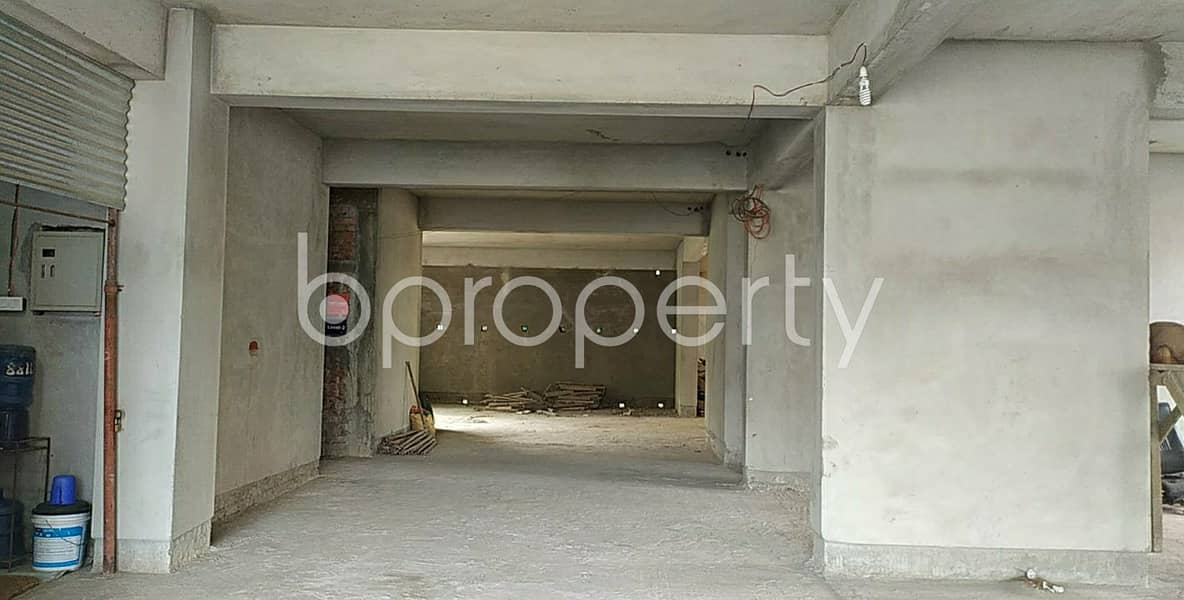 Acquire This 1300 Sq Ft Office Which Is Up For Sale In Halishahar Housing Estate