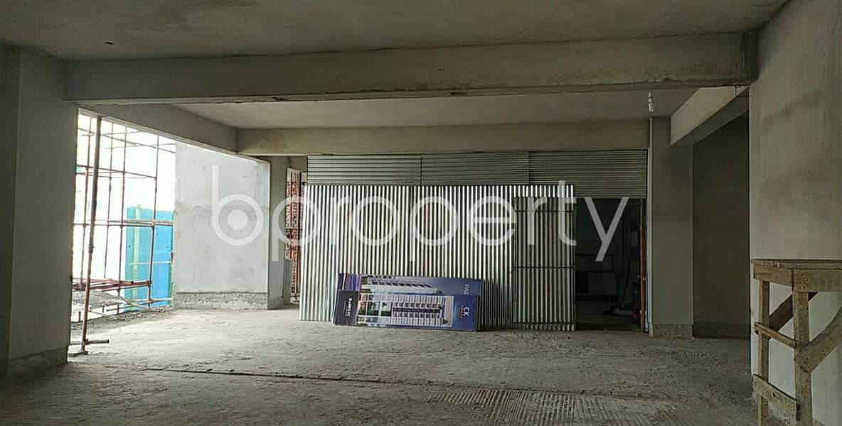 1100 Sq Ft Ample Commercial Space Is Available For Sale In Halishahar Housing Estate
