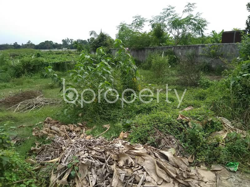 A Commercial Plot Is Available For Sale In Purbachal Nearby Uttara University.