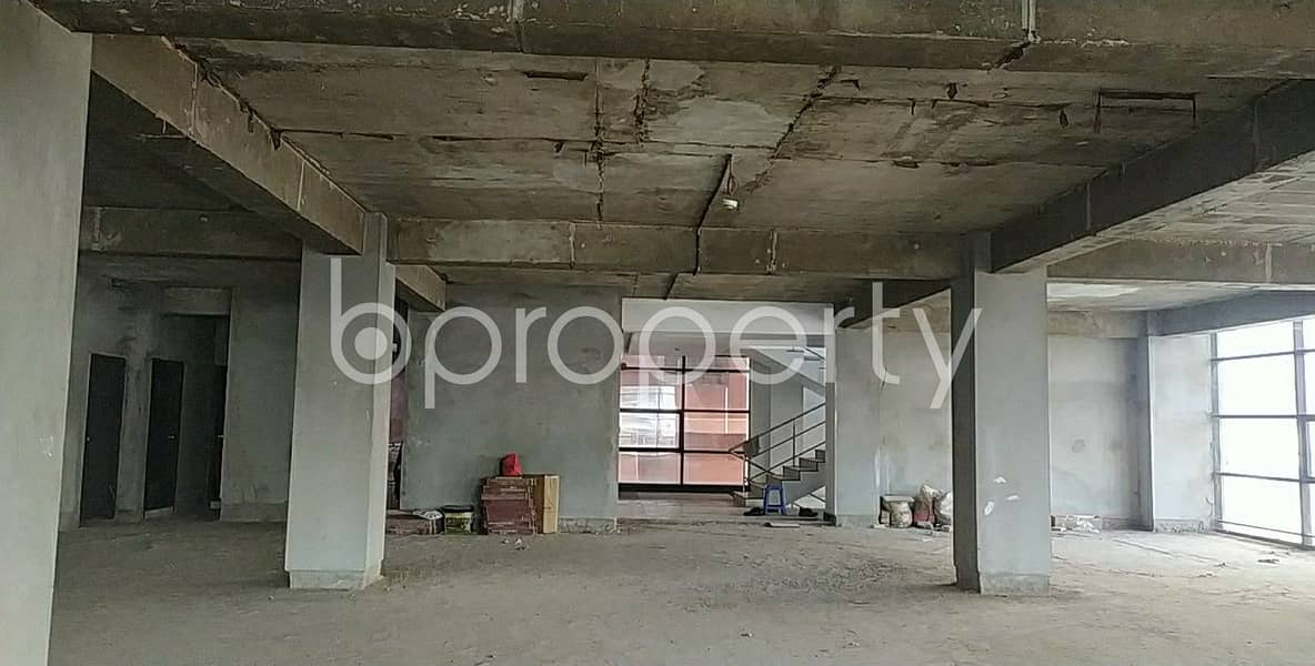 An Excellent Office Of 4500 Sq Ft Is Waiting To Be Rented In Halishahar Housing Estate