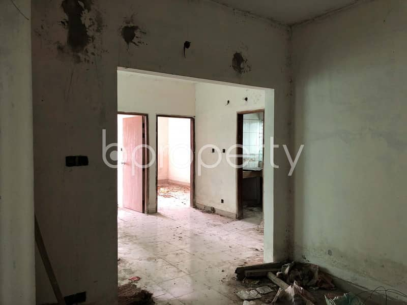 A Strongly Structured Apartment Of 1224 Sq Ft Is Available For Sale In Lalbagh Near Viqarunnisa Noon School