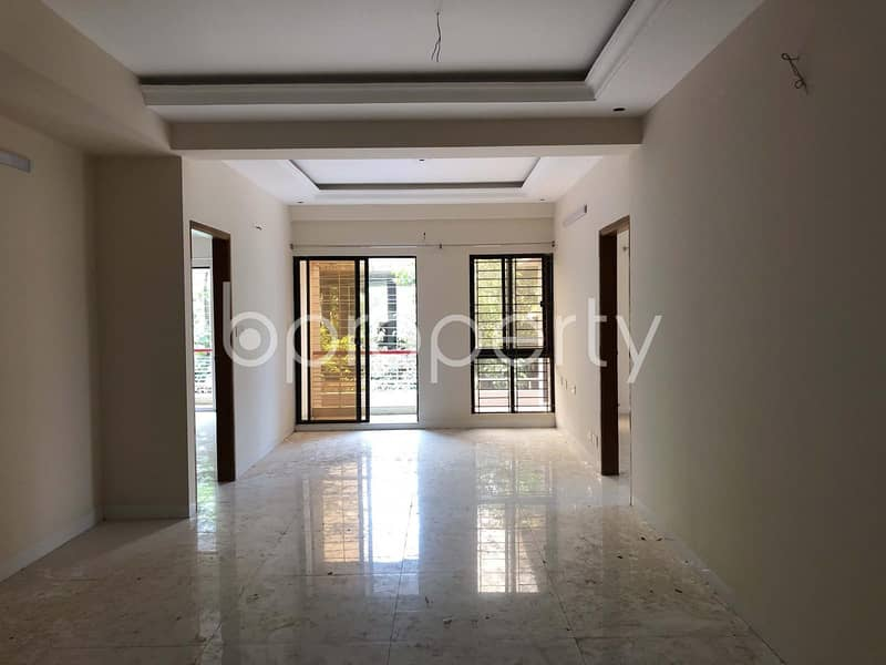 Spacious Apartment of Rent in Bashundhara R-A, near North South University