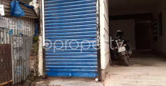 Shop for Rent in Dakshin Khan, Dhaka - A 110 Sq Ft Commercial Shop Is Available For Rent Which Is Located In North Azampur