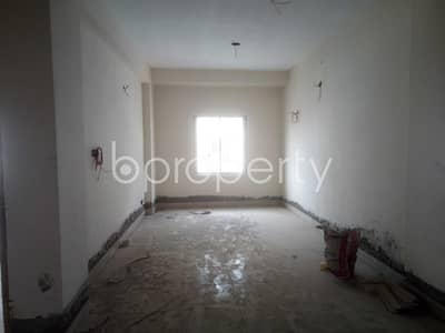 3 Bedroom Flat for Sale in Badda, Dhaka - Grab This Lovely 1265 Sq. Ft Flat For Sale In Nurer Chala.