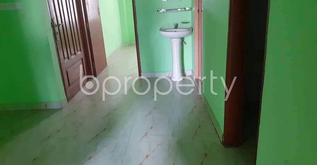 Well-constructed 1000 Sq Ft 2 Bedroom Apartment Is Ready For Rent At Kazir Dewri